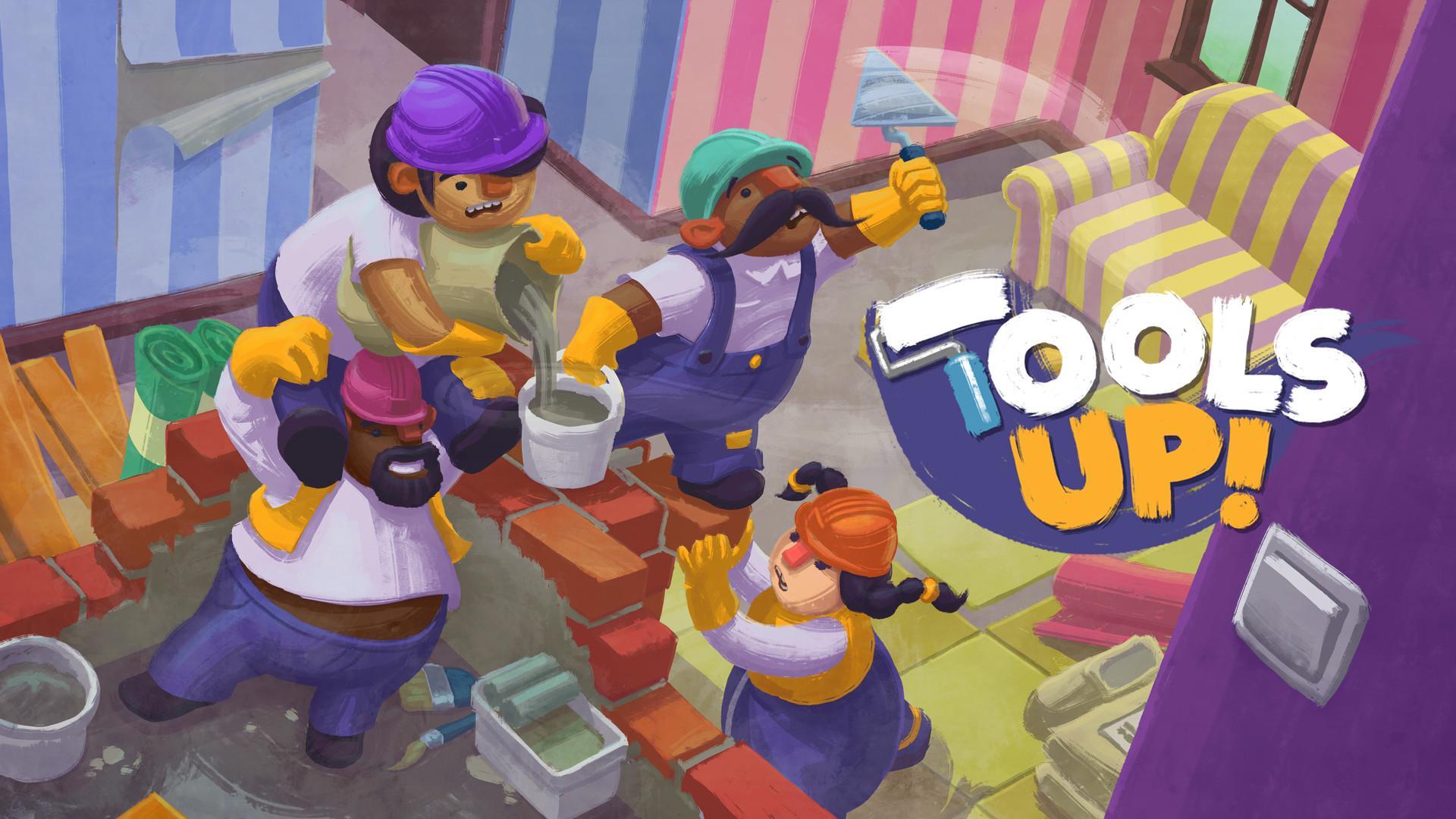 合力装修新居考验友情 《Tools Up!》年内登场