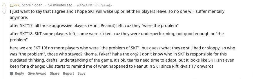 游戏理解还停在过去T1四连败引发热议