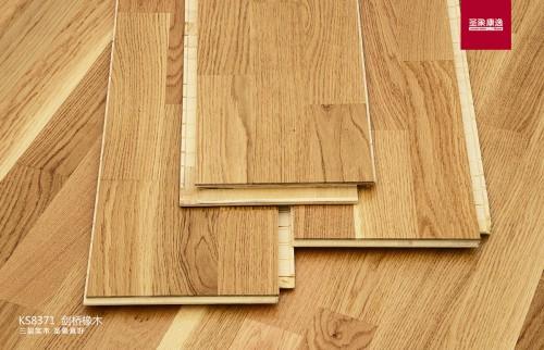 【三层实木地板选购指南,三层三拼成优质地板之王】 三层实木