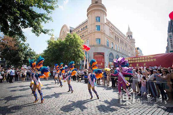 赏西餐美食、看千人花车巡游 中国国际西餐文化节盛装开幕
