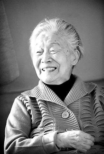 杨绛将迎104岁生日:仍坚持练字写作谢绝拜访