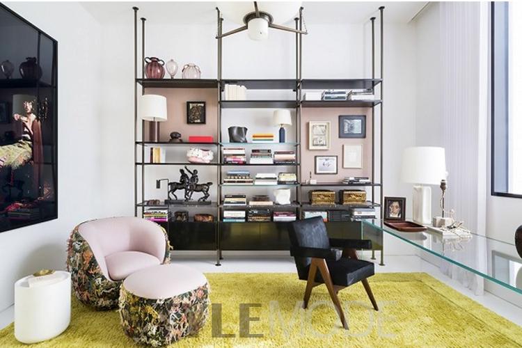 家居装修  gennari说,有三个诀窍让你家看上去像是法国人的: 面对现实