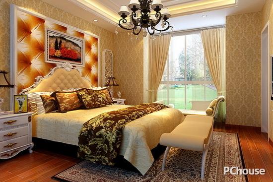 欧式卧室床头背景墙效果图 欧式卧室床头背景墙效果图5 不同的家装风格演绎出各种各样的家园风情,蕴含着千姿百态的生活乐趣。欧式风格从华丽的装饰、浓烈的色彩、精美的造型来达到雍容华贵的装饰效果。