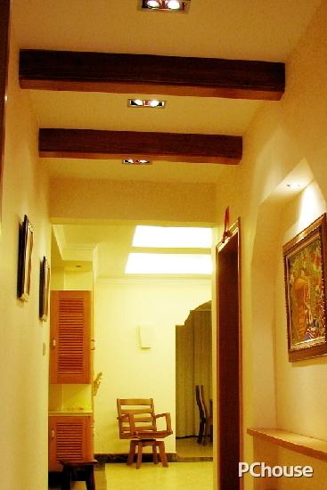 简约走廊吊顶装修效果图