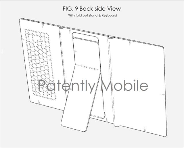 三星再获新专利:或推三段式可折叠平板图片