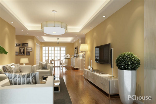 空间的视觉效果,现代人越爱越重视家庭装修的搭配了图片
