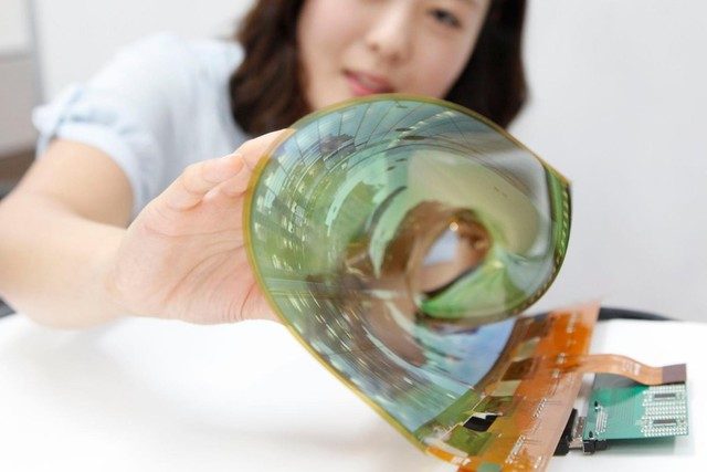 韩国研发布料做的OLED屏幕可穿在身上