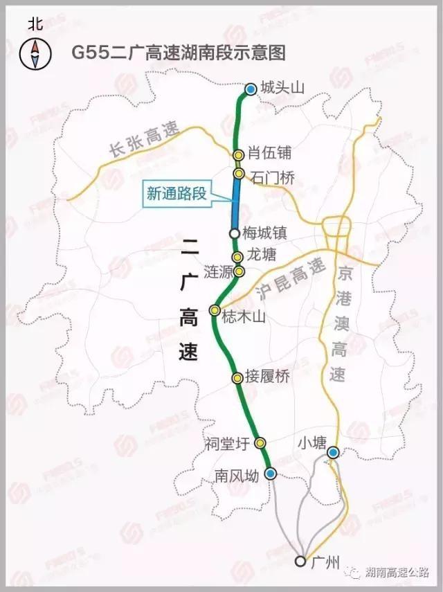 长常、常吉、潭邵、邵怀、益马(在建)等多条高速公路及国道、省
