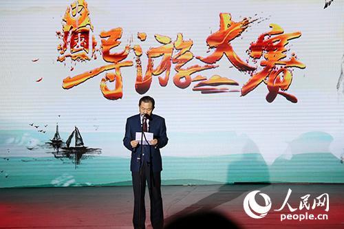 安徽省副省长张曙光上台致辞。 实习生王赵童摄