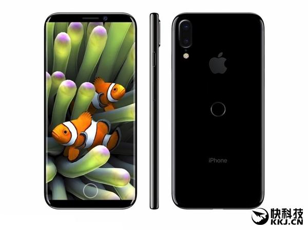 iPhone 8图纸曝光:垂直双摄、后置指纹