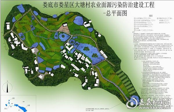娄星区最新规划图