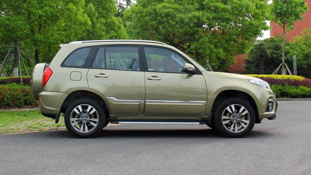 奇瑞打造自主SUV新标杆 6.89万起售