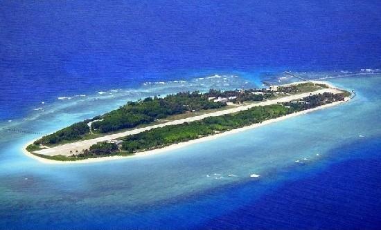 """对菲律宾主张太平岛是""""岩礁"""""""