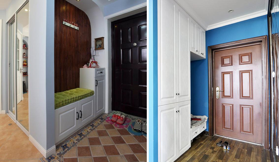 玄关间隔,保障居家私密性