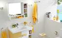 内外兼修的小黄浴室柜 瞬间提升浴室颜值