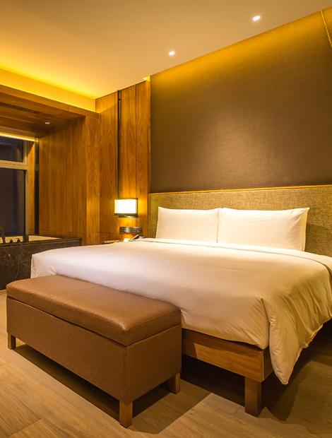 敖麓谷雅AOLUGUYA酒店房型——卧云大床