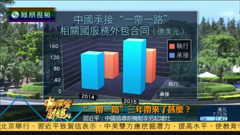 """2016-09-10中国深度财经 """"一带一路""""三年带来了什么"""