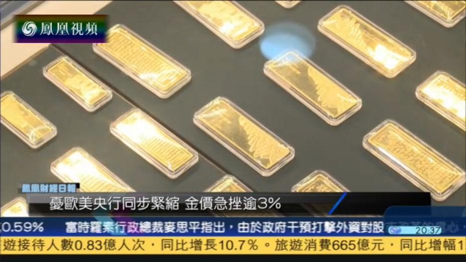 金价暴跌 肖磊:金价存不确定性仍可能上涨