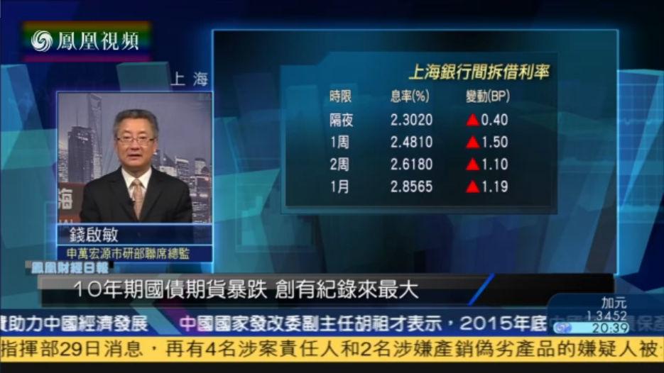 钱启敏:年底资金荒提早来 A股升幅股压制