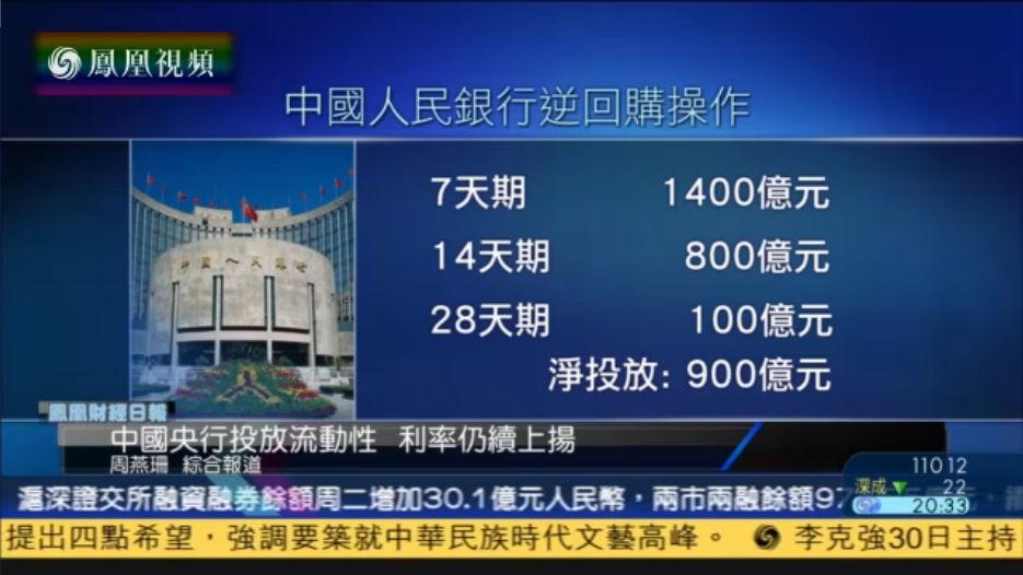 胡伟俊:央行将小心操作 避免市场长期钱荒