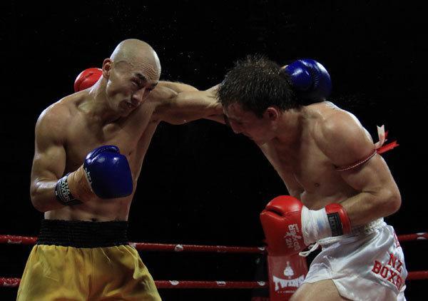 胜最像李小龙,一龙有差距,KO马库斯,3秒打晕日拳王图片