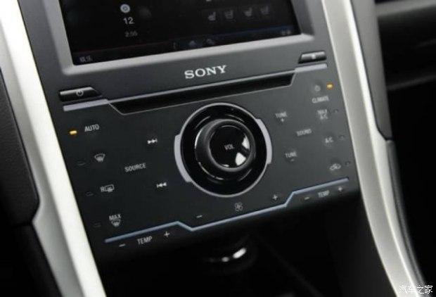 福特新蒙迪欧中控触摸按键现在变成物理按键了,是么图片