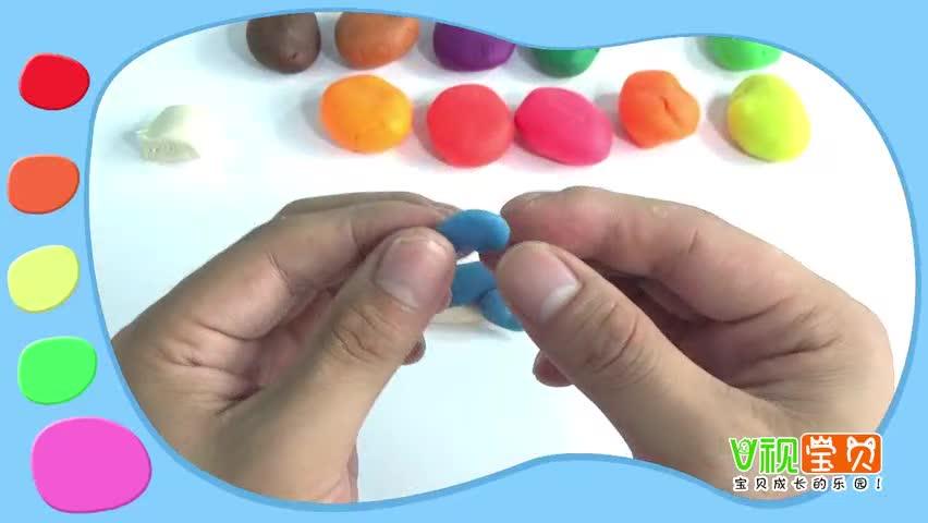 创意彩泥手工diy小海豚 儿童益智玩具橡皮泥diy