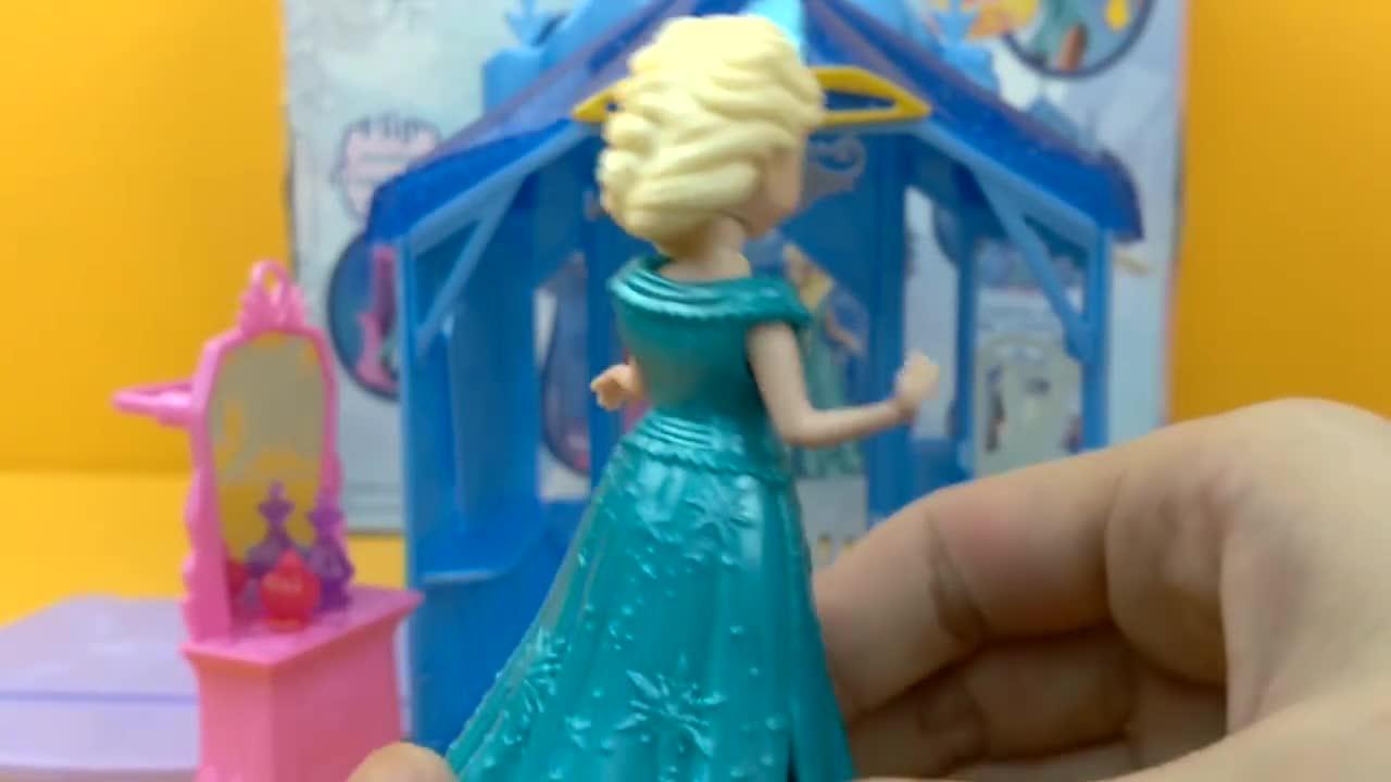 冰雪奇缘 艾莎公主的房间 迪士尼公主 迪士尼玩具