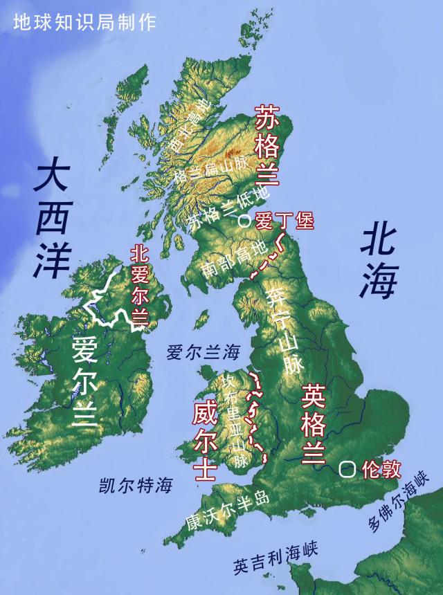 英格兰地图【相关词_ 英国英格兰地图】图片