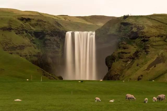 极致之旅  所以最好的角度在这里 ▼ 冰岛 斯科加瀑布(skóga