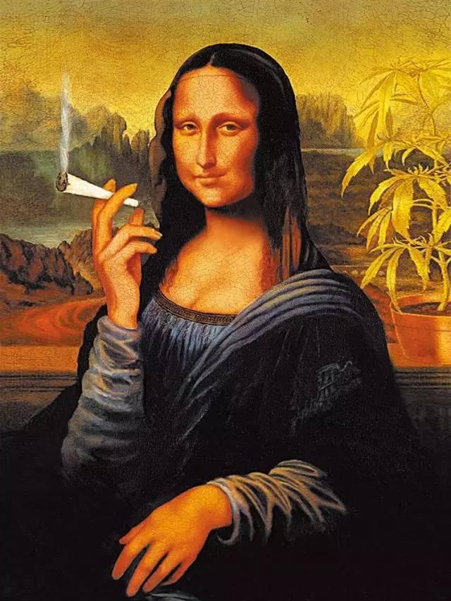 从世界名画变成图片女神,蒙娜丽莎这些年经表情搞笑暴表情包走大哭
