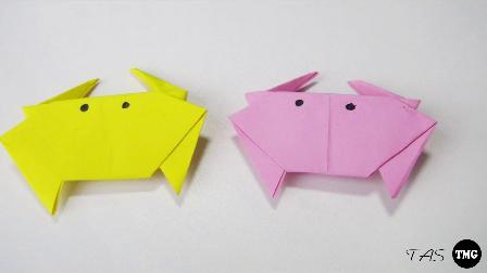 小爱的折纸 螃蟹