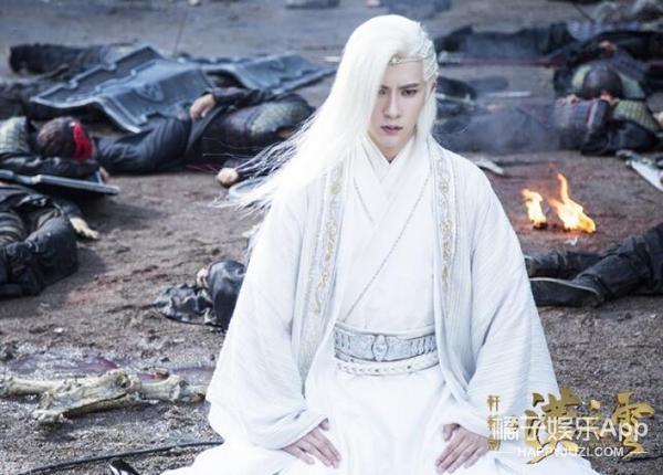 马可新剧白发造型美哭,古装白发美男子还有他们