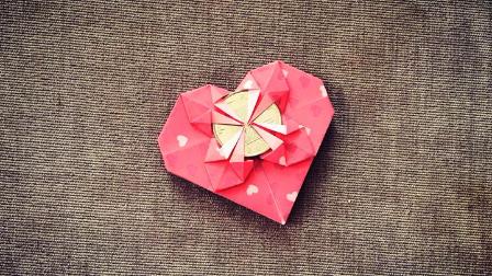 纸在乎你 手工折纸 漂亮心形折纸还能当红包