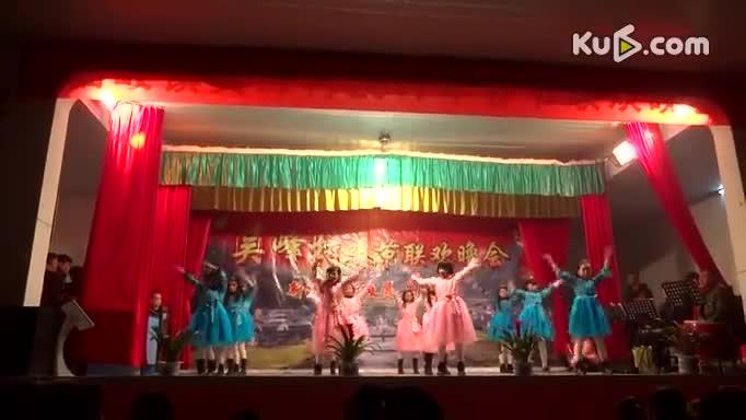 吴峰村儿童舞蹈《嗨.我的梦》