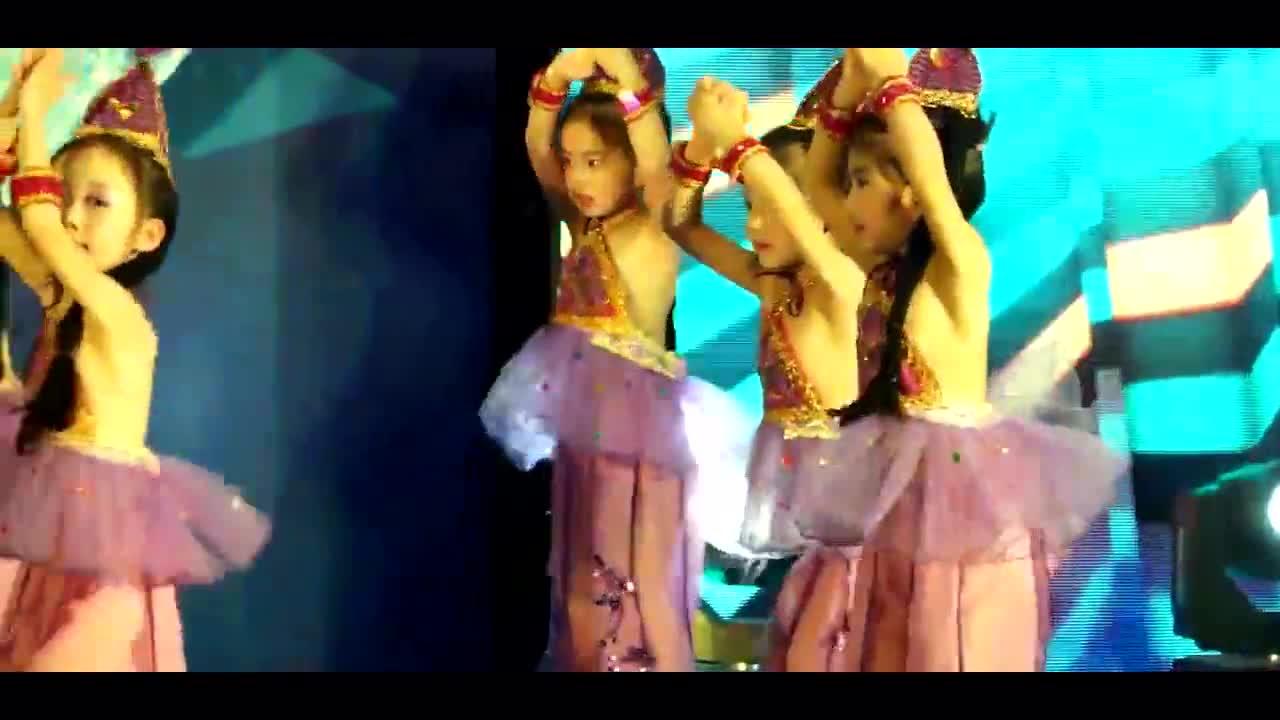 《西域风情》少儿舞蹈 民族舞 新疆舞