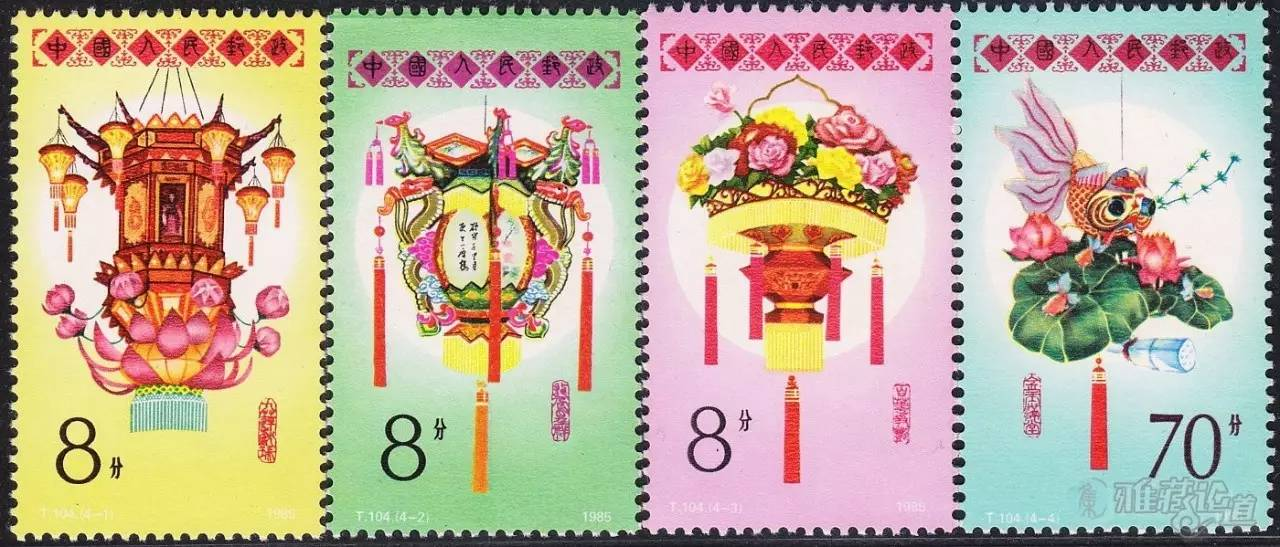 """""""龙凤呈祥"""",""""百花齐放"""",""""金玉满堂""""四幅花灯图样,分别代表了中国花灯"""
