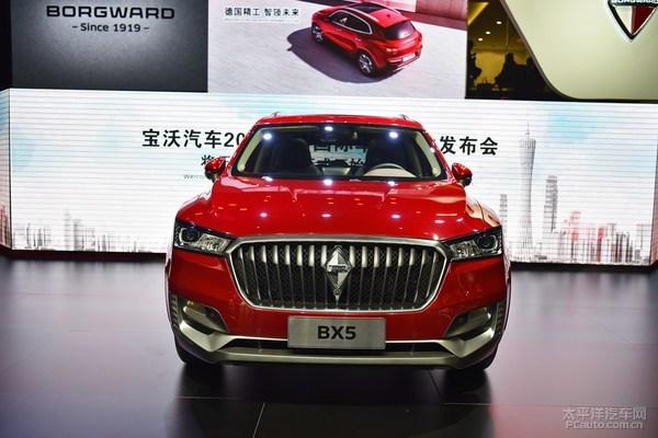 宝沃BX5量产版首发 高颜值海归派驾到