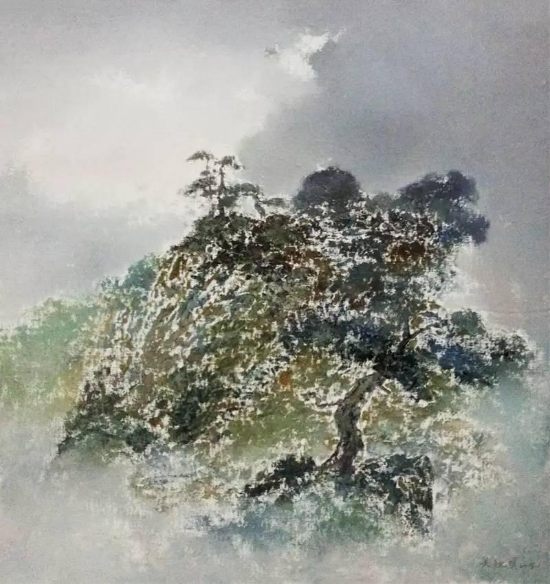 风景油画的文人情怀:吴秋明的油画山水探索