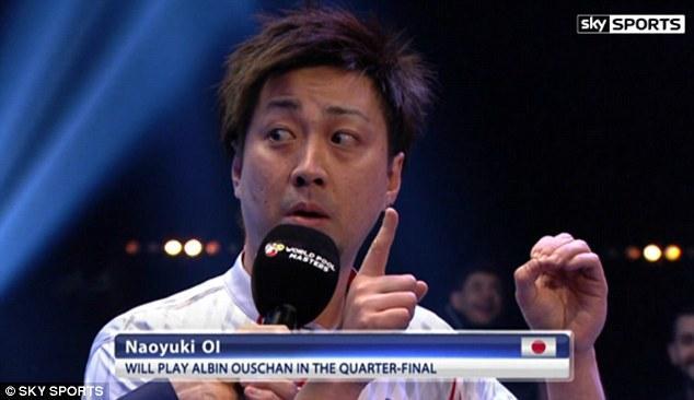 日本台球选手搞笑采访爆红 看英文渣如何装逼