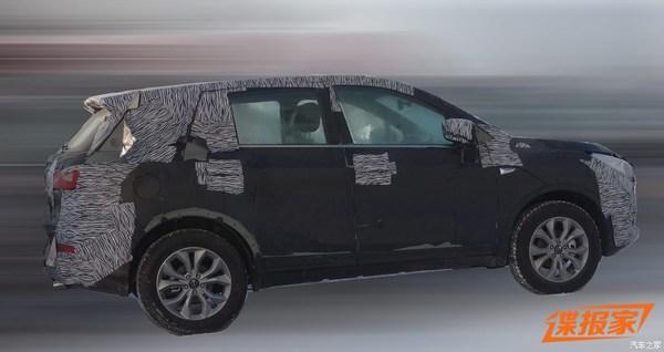 曝传祺GS3谍照 定位小型SUV/或秋季上市