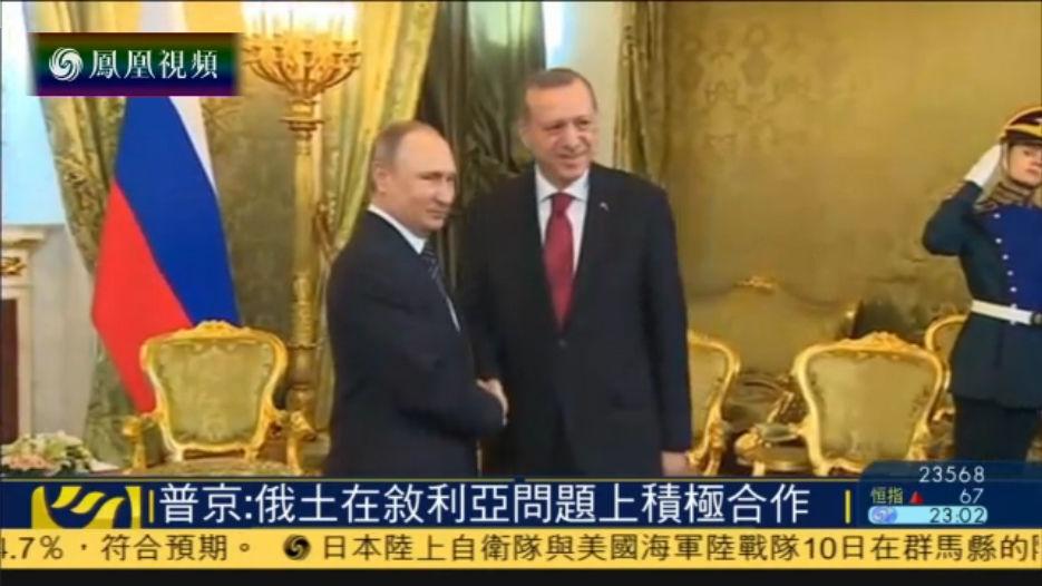 普京与土耳其总统会面 讨论叙利亚局势