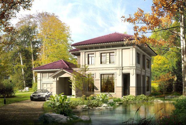 在老家建房子 一层和多层你选哪个图片