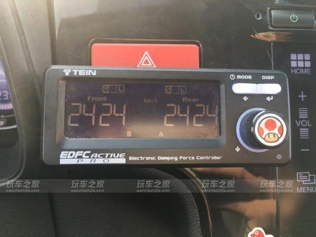 本田超跑 香槟绿飞度GK5改装