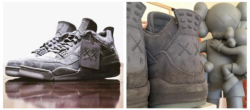 Air Jordan 4 KAWS Cool Grey Glow 930155-003 - Cheap Air Jordan - Jordangogo.com