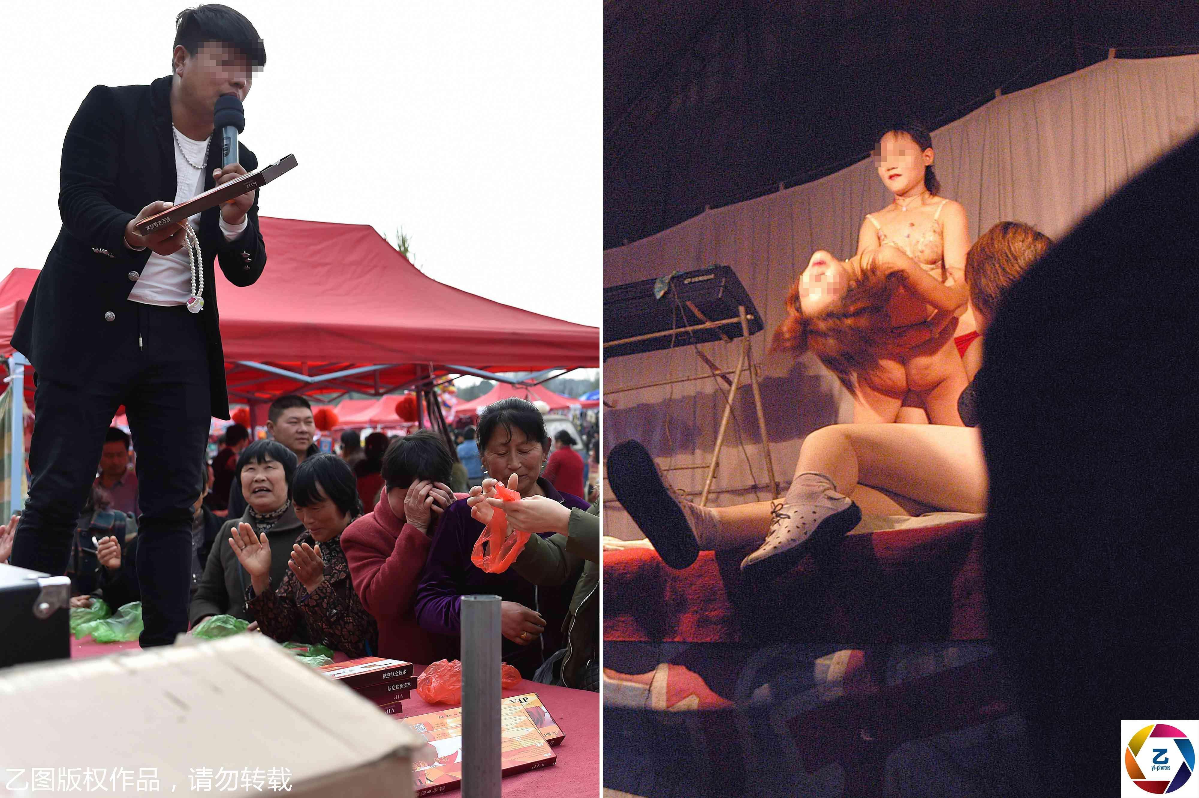 农村大棚裸舞表演_从低俗艳舞到骗子聚会,实拍乡村庙会15年之变