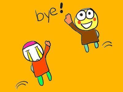 与打招呼一样,再见表达的不好也会让对方低估你的英语水平,也是让对图片