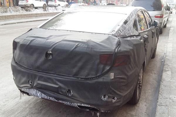 新款吉利博瑞最新谍照 或仍推出6AT车型
