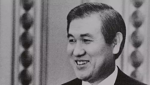 资料图片:韩国前总统卢泰愚。