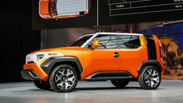 丰田展示概念SUV:一个可以移动的家